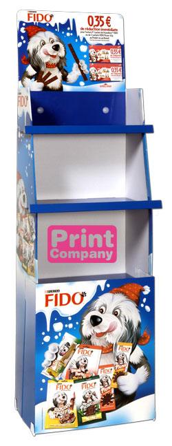 PLV carton depliante impression numérique